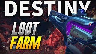 Destiny 2: LOOT FARMING WITH EXOTIC WEAPONS! (Destiny 2 PC BETA)