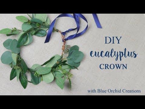 DIY Eucalyptus Crown