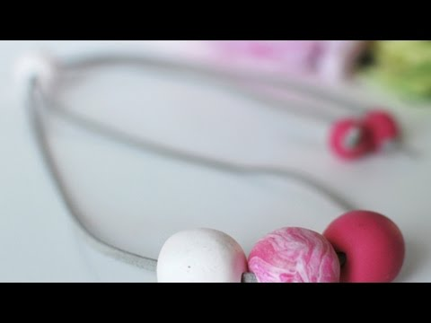 Make a Polymer Clay Bead Necklace - DIY Style - Guidecentral