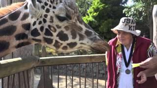 Susan Te Kahurangi King's Auckland Zoo Visit