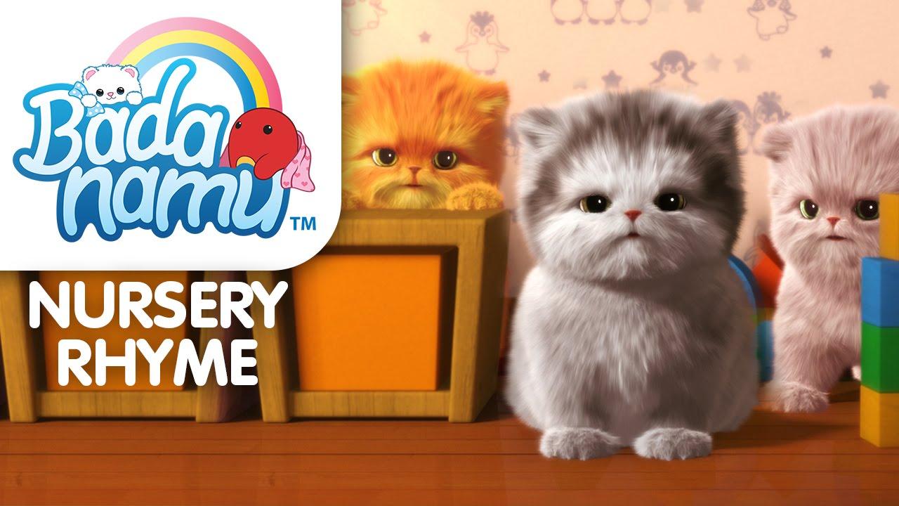 Three Little Kittens l Nursery Rhymes & Kids Songs
