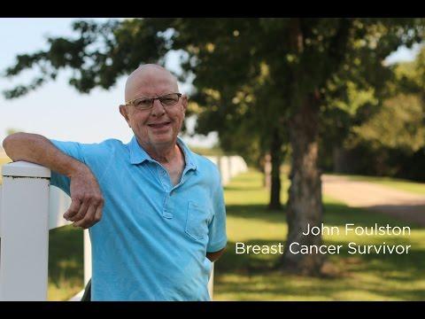 John Foulston: Breast cancer survivor