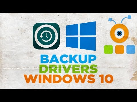 How to Backup Drivers in Windows 10