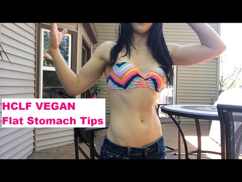 Tips To Maintain a Flat Stomach All Day On a High Carb Vegan Lifestyle