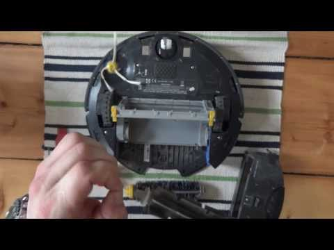 iRobot Roomba 770 cleaning guide / disassemble guide // GERMAN DEUTSCH