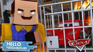 Minecraft Hello Neighbour - THE NEIGHBOUR IS HIDING BIG SECRETS