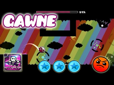 Gawne by KittyNeon | Geometry Dash Online Levels [2.0] ¡Congratulations KittyNeon! :)