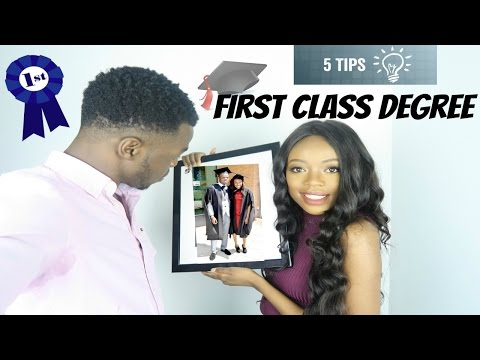5 TOP TIPS FOR A FIRST CLASS DEGREE!