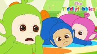 Teletubbies ★ NEW Tiddlytubbies 2D Series! ★ Episode 4: Sleeping Mat Carousel ★ Videos For Kids