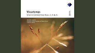 Vieuxtemps  Violin Concerto No2 In F Sharp Minor Op19  I Allegro