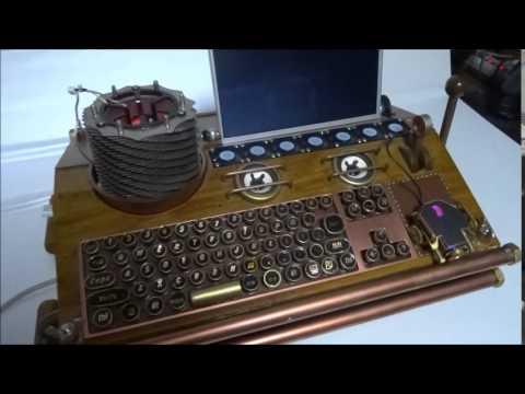DIY PC steampunk