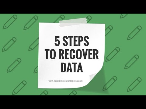 Easy steps to recover shortcut files in USB Flash Drive/Pen Drive/Hard Drive/SD Card