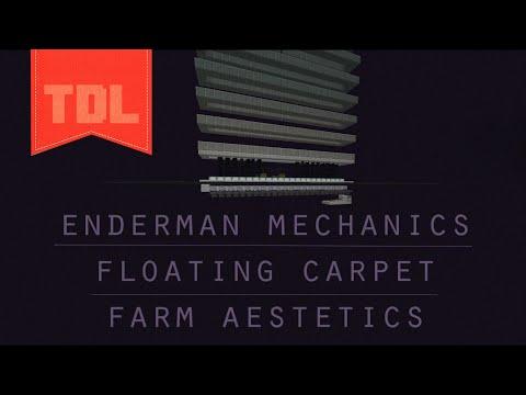Enderman teleportation + No roof in EnderFarms + Floating Carpet