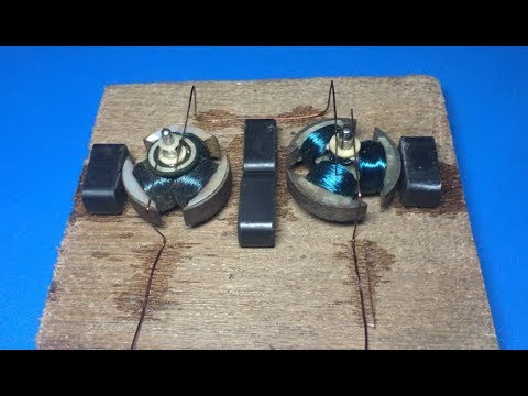 How does brushed DC motor work????