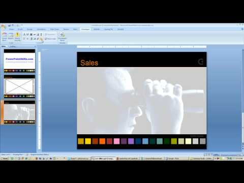 Insert Flash Applications in PowerPoint
