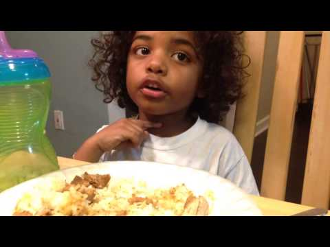 Toddler excuses why not to eat their dinner