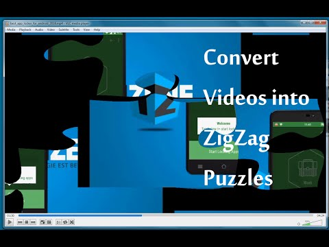 Turn Videos into Puzzle Games using VLC Player