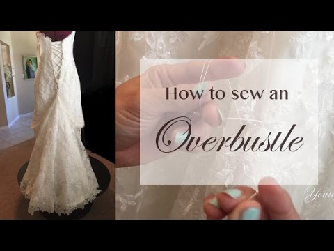 How to sew an Overbustle
