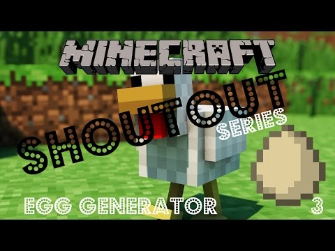 SHOUTOUT Minecraft - Egg Generator and Getting Sheep! #3
