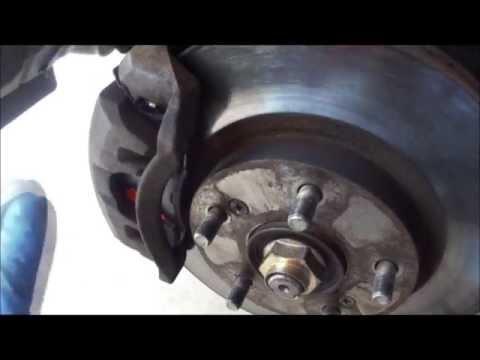 2004 Honda Brake Pad Replacement
