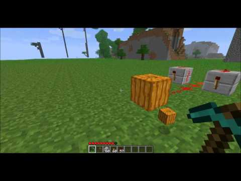 Minecraft 1.7.2 Multiplayer Dupe using Pumpkin
