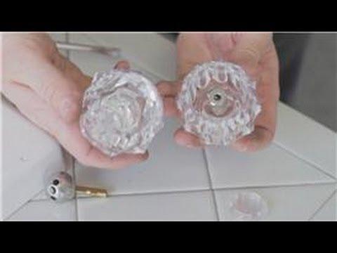 Faucet Repair : How to Fix Broken Ball Handle on a Bathtub Faucet
