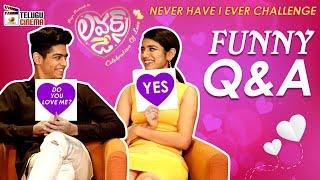 Priya Prakash Reveals Her Crush on Hero Roshan Abdul | Priya Prakash Varrier and Roshan FUNNY Q & A