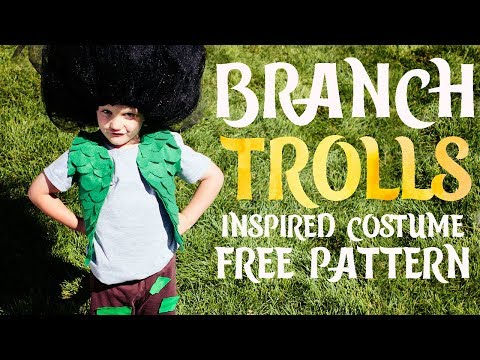 How to Make a Trolls Branch Costume