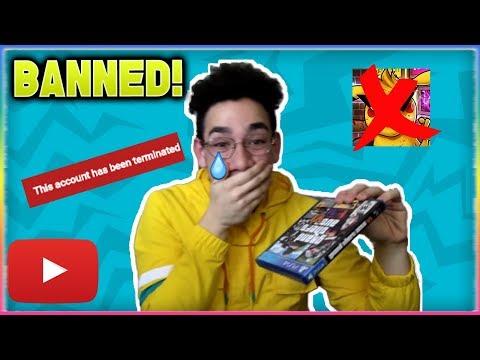 SERNANDOE is BANNED From YouTube!