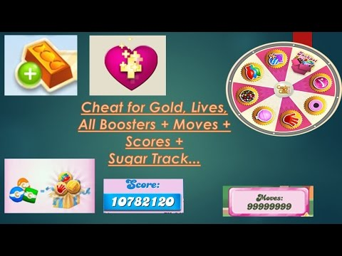 How to cheat in Candy Crush Saga Infinite all   Ultimate Uploader