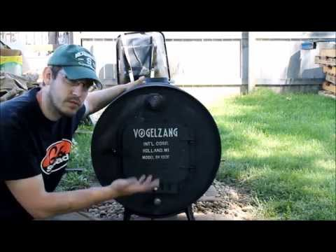 Building a Wood Burning Stove for Under $75 - Vogelzang Barrel Stove Kit