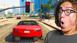 I Tried Playing GTA 5 Without Breaking Any Laws!