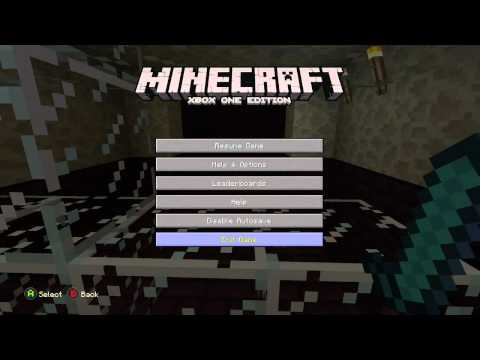 Meepers' Minecraft: Xbox One Save and Autosave Options