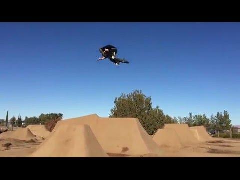 How to 360 a Dirt Jump on BMX
