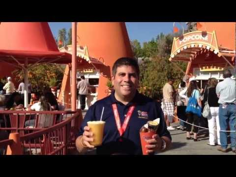 Cozy Cone Treats at Carsland at Disney California Adventure Park for Under $10