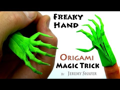 Freaky Hand Magic Trick