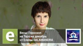 Весы - Гороскоп на Таро на декабрь 2018 года от эксперта Liveexpert.ru Елена Salamandra