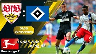Nhận định, soi kèo Stuttgart vs Hamburger 01h30 ngày 29/05 - vòng 28 - Hạng 2 Đức 2019/2020