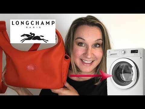 Washing machine v. Longchamp bag