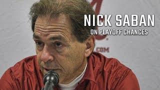 Hear what Nick Saban says about Alabama