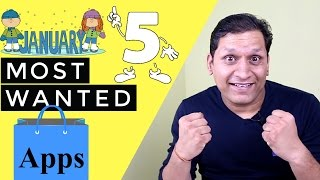 Top 5 Most Wanted useful apps for January 2017 | Jio Night Unlimited Data