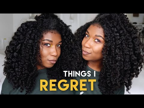 CHAT - 3 Things I Stopped Doing + REGRET - Natural Hair