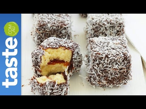 How to make easy lamingtons
