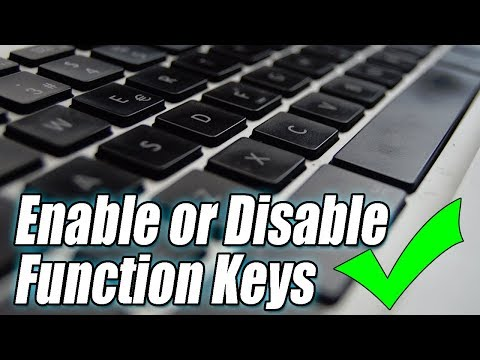 How To Enable & Disable FN Key On Laptop | Enable or Disable Function Keys
