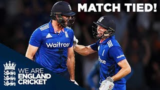 The Best ODI Ever? England Tie Match With Six Off The Last Ball v Sri Lanka 2016