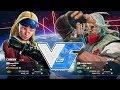 Kazunoko (Cammy) vs Majorboy (Zeku):かずのこ(キャミィ)vs メジャーボーイ(是空)