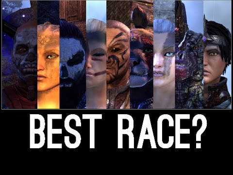 Best Race for Elder Scrolls Online?