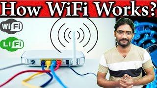 How Does Wi-Fi work? Wifi Working Principles? The WiFi Magic Detail Explaine!