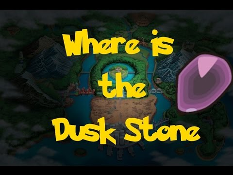 Where Is: The Dusk Stone (Location 2) (Pokemon Black/White)