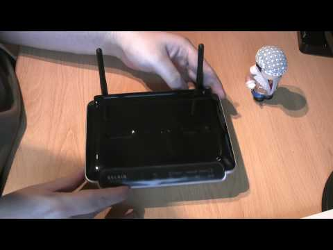 Unboxing/Review of a Belkin Wireless N Modem Router